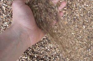 Affinage bois broyé