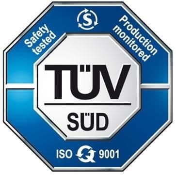 Logo certification TUV