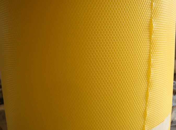 autres vues de Gaufrage de feuille plastique