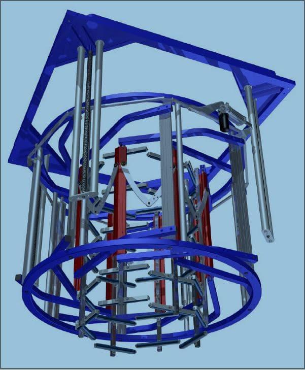 autres vues de Cage de calibration de bulle